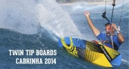 (English) Twin tip boards Cabrinha 2014