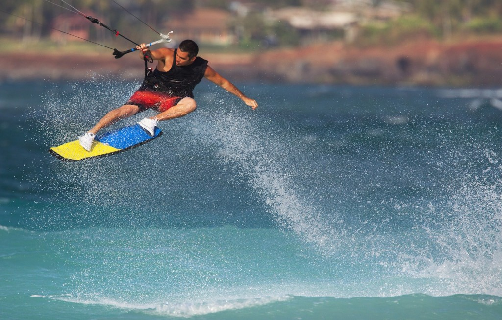 Cabrinha Wakeskate 2014 in action