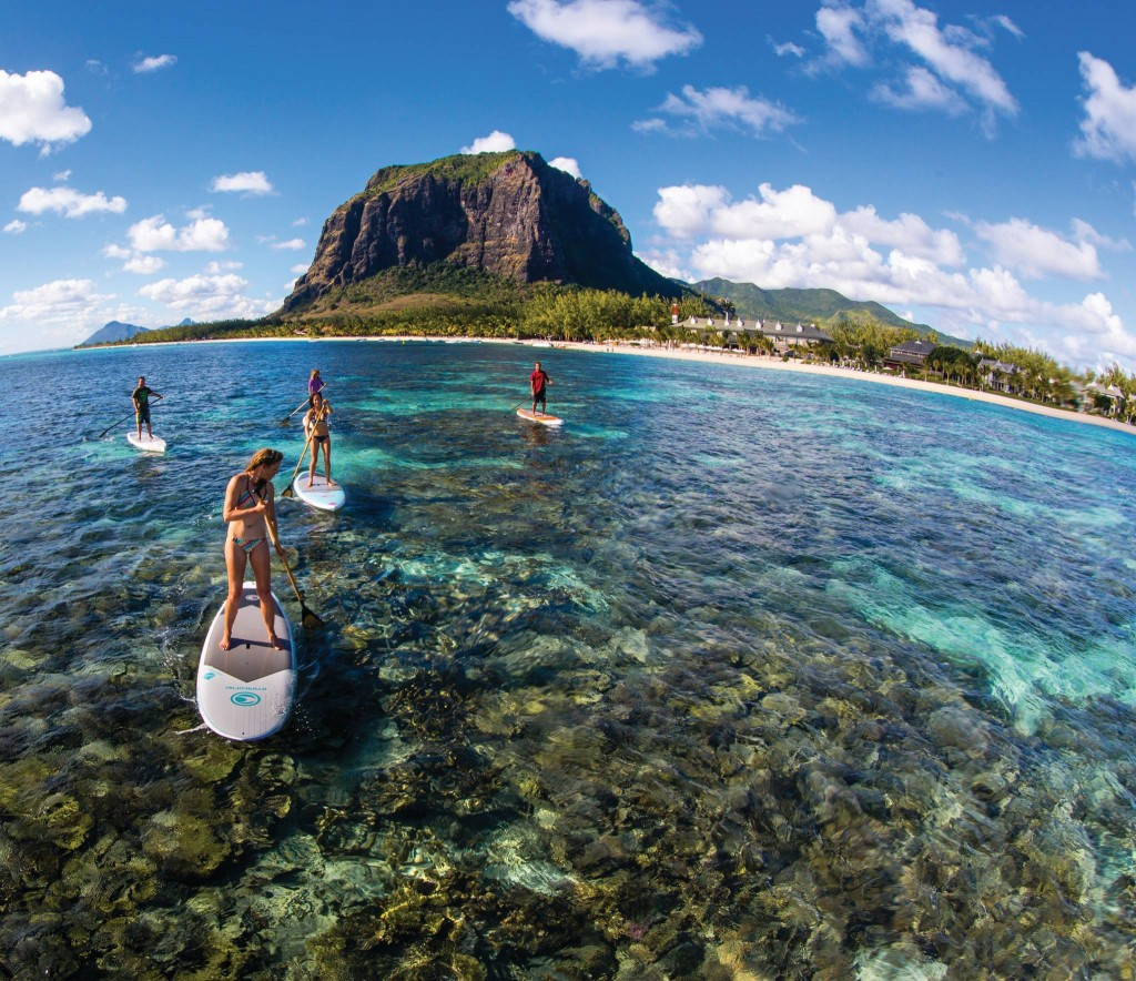 SUP Safari Around Le Morne