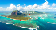 Local peculiarities of wind in Mauritius