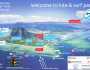 Ultimate kite & surf map of Le Morne